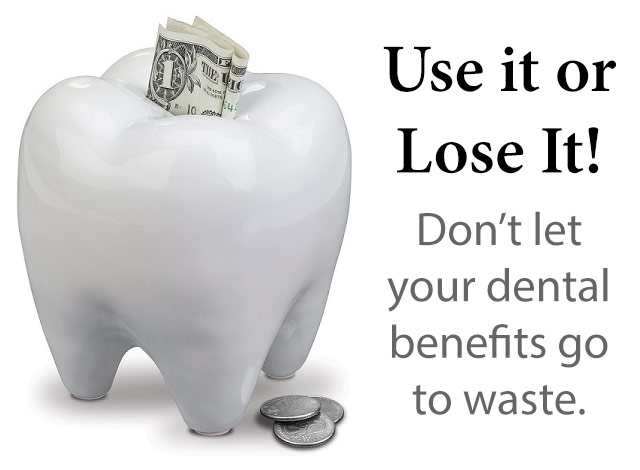 Yearly Dental Insurance Benefits: Use It or Lose It